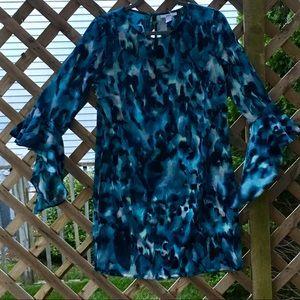 Bar III Sz Small long sleeve dress